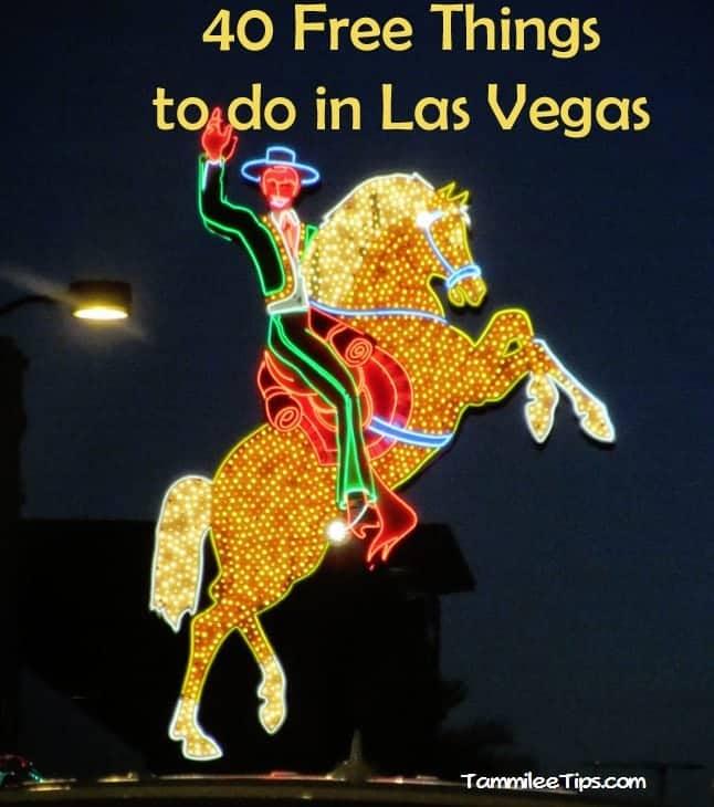 40 Free Things to do in Las Vegas
