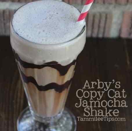 Copy Cat Arbys Jamocha Shake Recipe