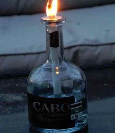 Cabo Wabo Tequila Bottle Torch