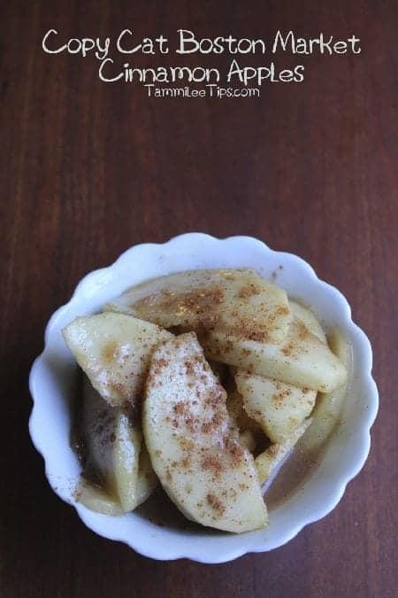 Copy Cat Boston Market Cinnamon Apples