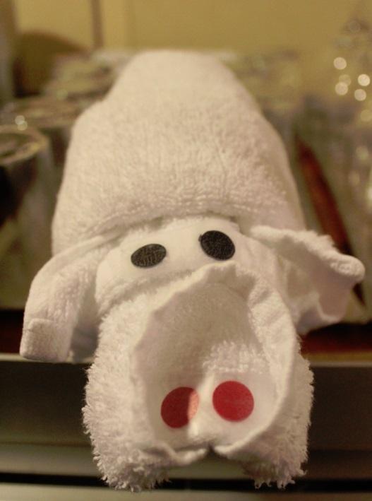 Carnival Breeze Towel Animal cart