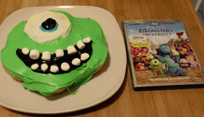 Monsters University Cupcakes Step 4