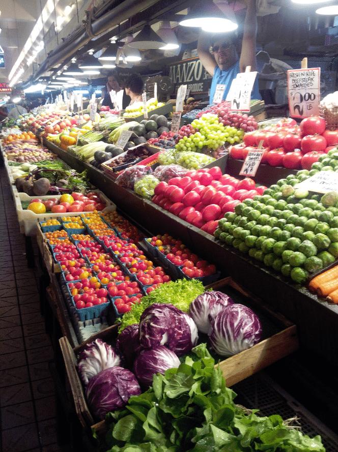 Seattle Pike Place Market Produce