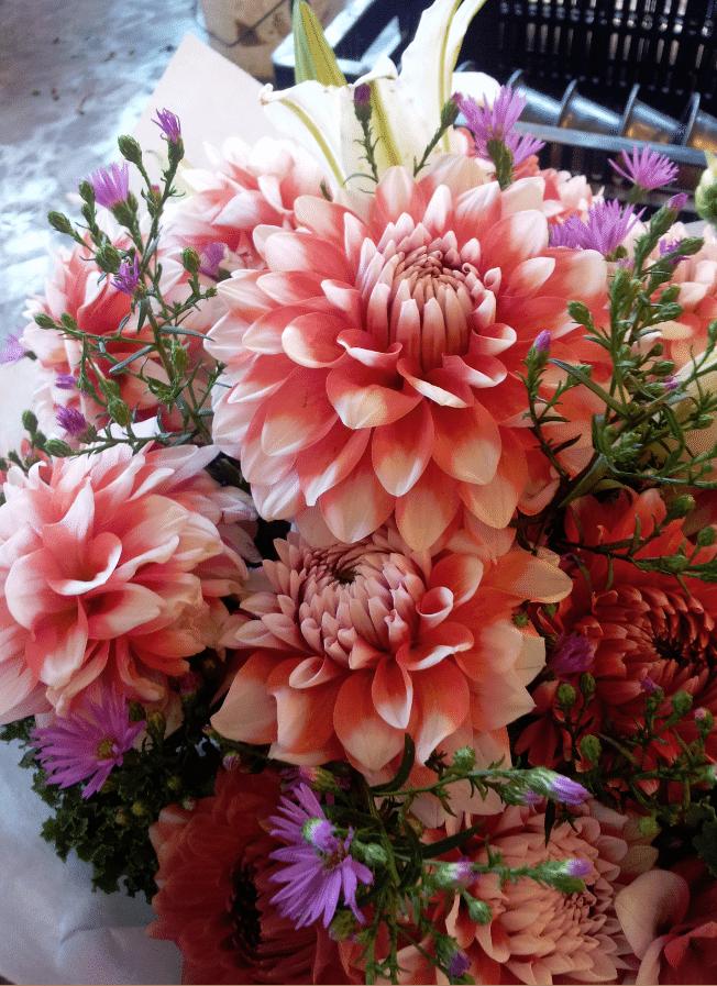 Seattle Pike Place Market flowers 2