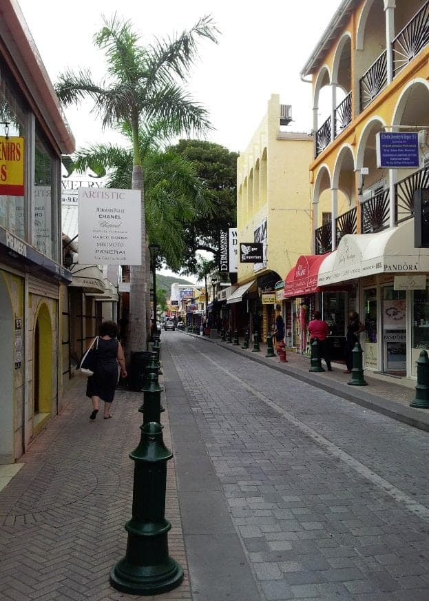 St Maarten Street
