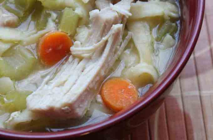 Crock Pot Chicken Noodle Soup Recipe
