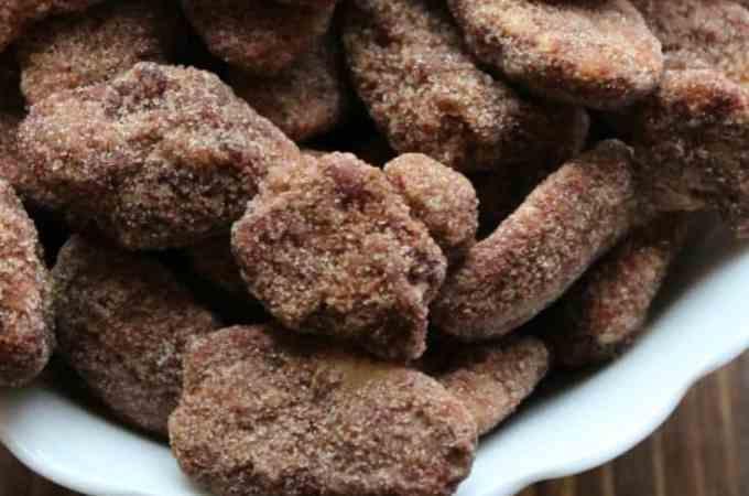 Crock Pot Cinnamon Pecans Recipe