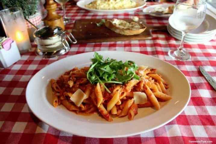 Carnival Breeze Cucina De Capitano Dinner Table