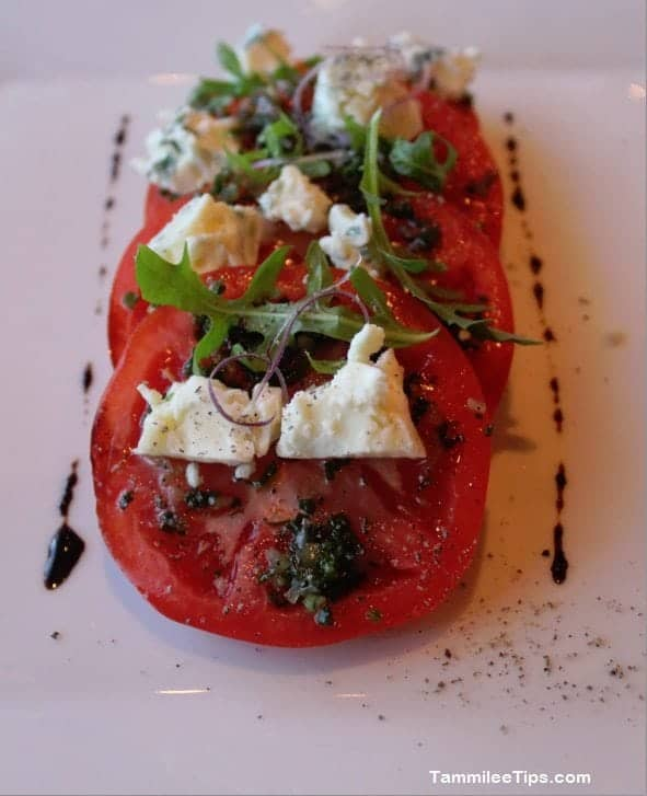 Carnival Breeze Fahrenheit 555 Steakhouse Tomato Salad