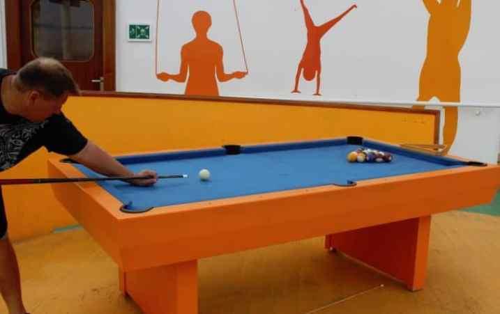 Carnival Breeze Pool Table