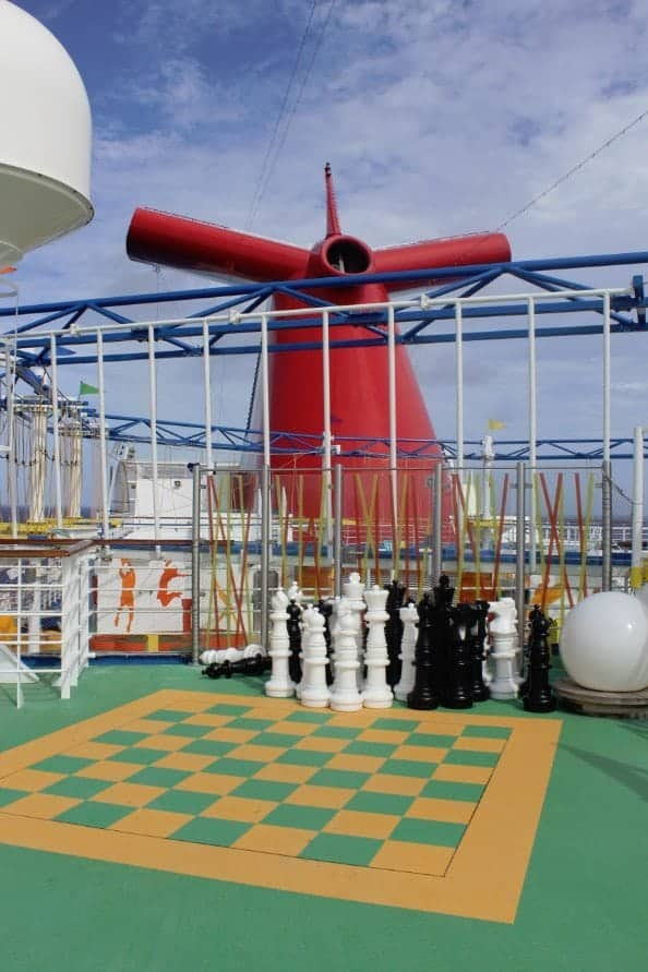 Carnival Breeze Sports Court Checkers