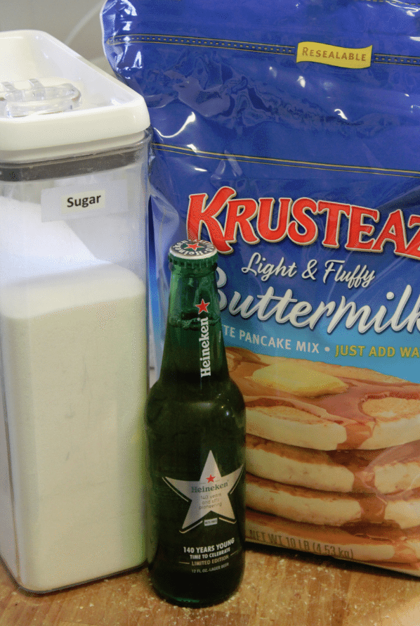 3 Ingredient Beer Bread Ingredients