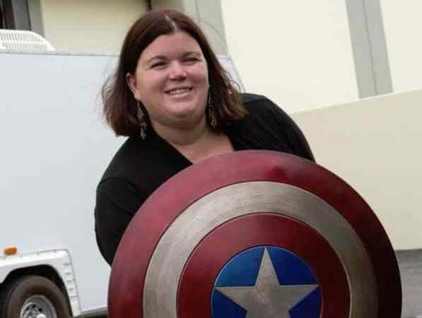 Captain America Shield and Interview with Prop Master Russell Bobbit from Captain America!