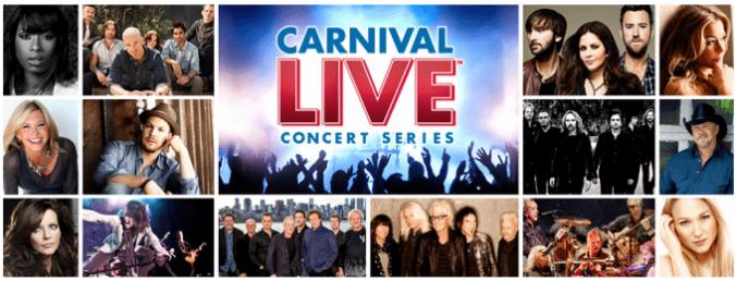 Carnival LIVE Concert Series