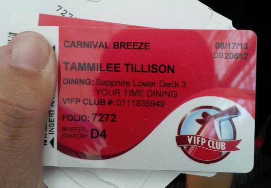 Cruise Card