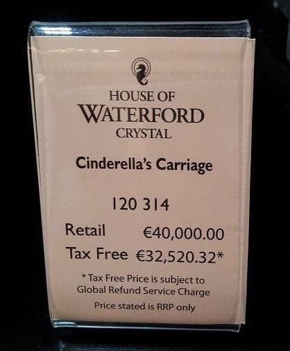 Waterford Cinderella Price