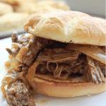 Crock Pot Bourbon Beef Sandwich Recipe Tammilee TIps