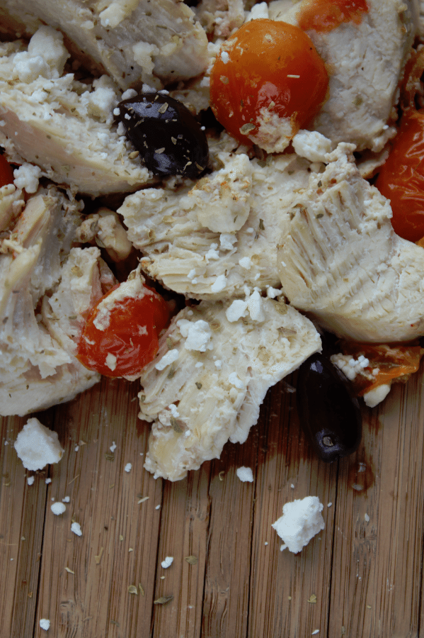 Crock Pot Mediterranean Chicken Recipe