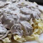CrockPot Garlic Beef Stroganoff Recipe tammilee tips