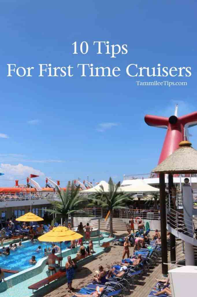 10 Tips for First Time Cruisers