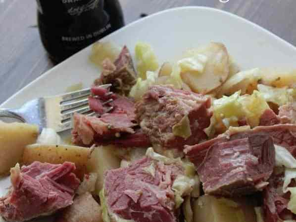 Slow Cooker Crock Pot Guinness Corned Beef and Cabbage Recipe