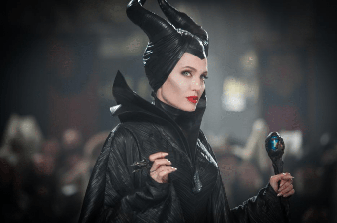 Angelina Jolie interview for Maleficent!