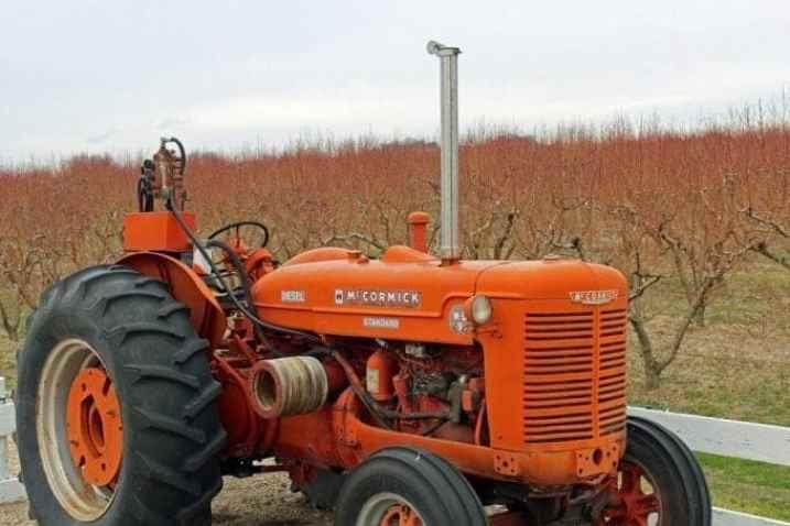 Fujishon Winery Tractor
