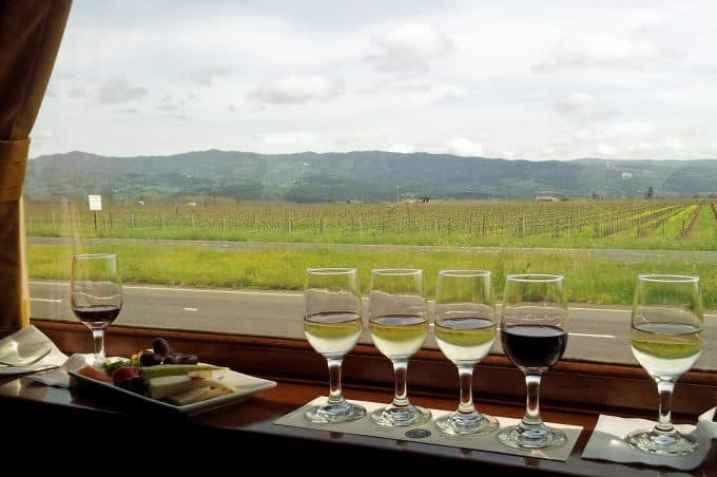 Napa Valley Wine Train appatizer