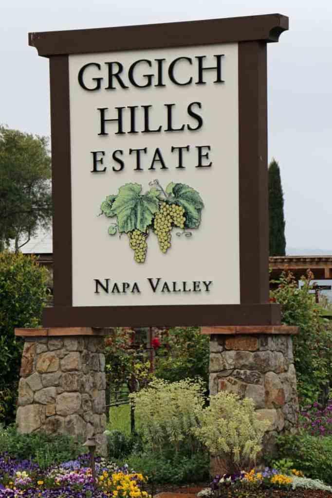Girgich Hills Estate sign