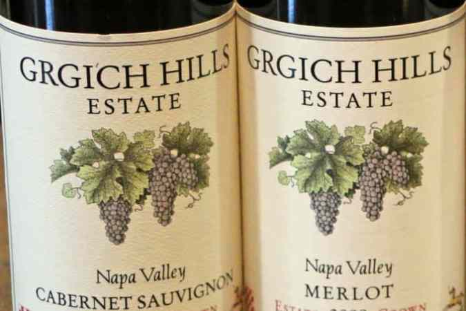 Grgich Winery Napa Valley California