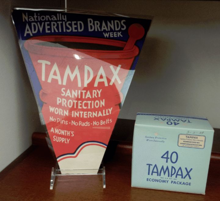 PG Archive Center Tampax