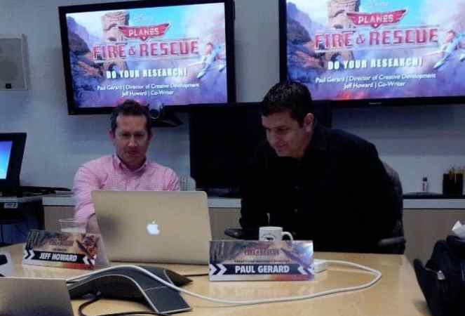 Disney Planes Fire and Rescue Research and Development