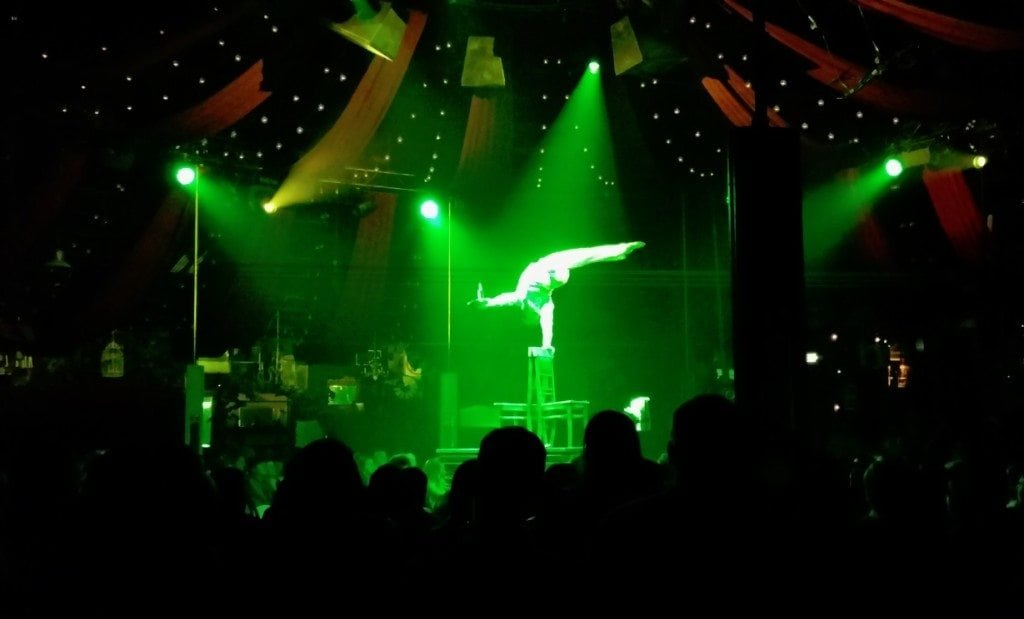 Absinthe Las Vegas Show Entertainer