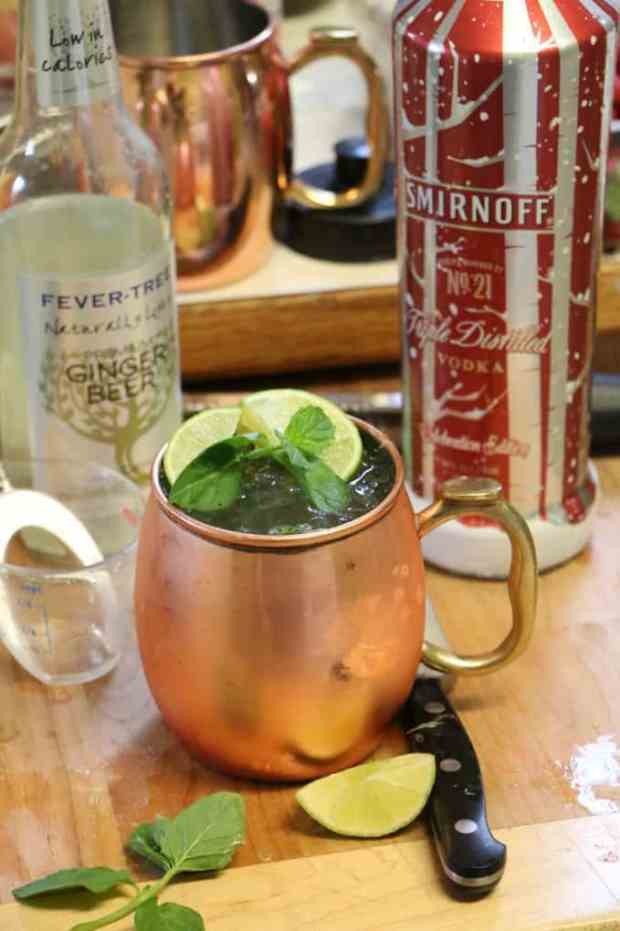 Moscow Mule Ingredients