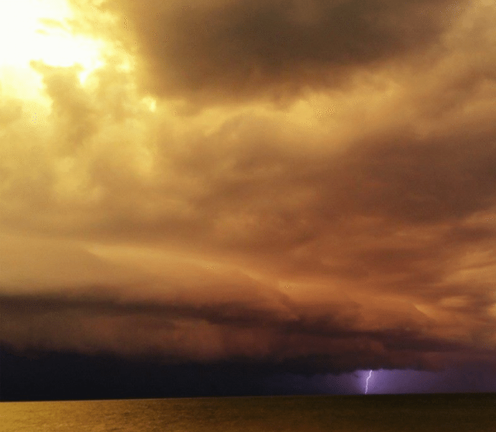 sanibel thunder storm