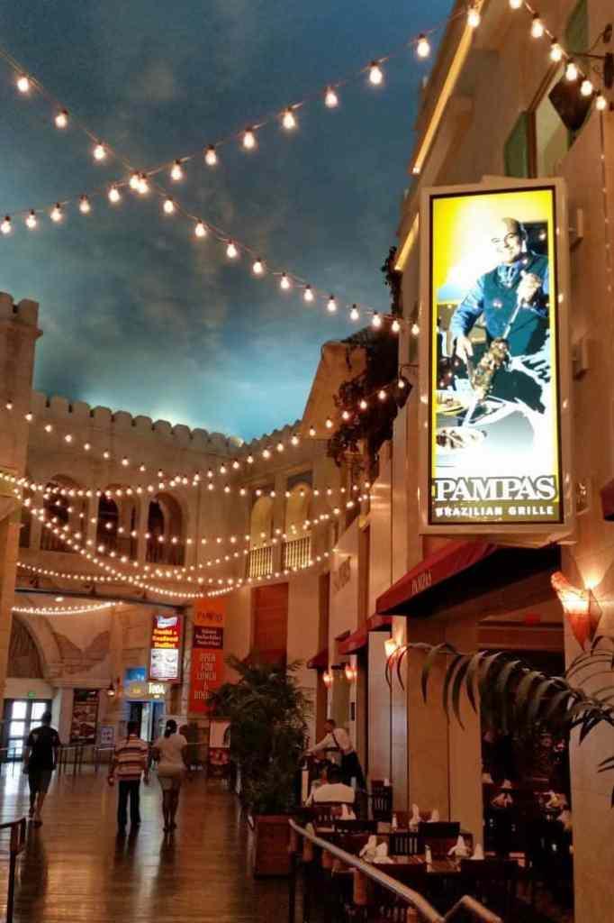 Pampas entrance Las Vegas