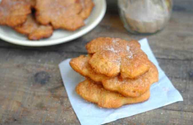 Cinnamon and Sugar Crescents