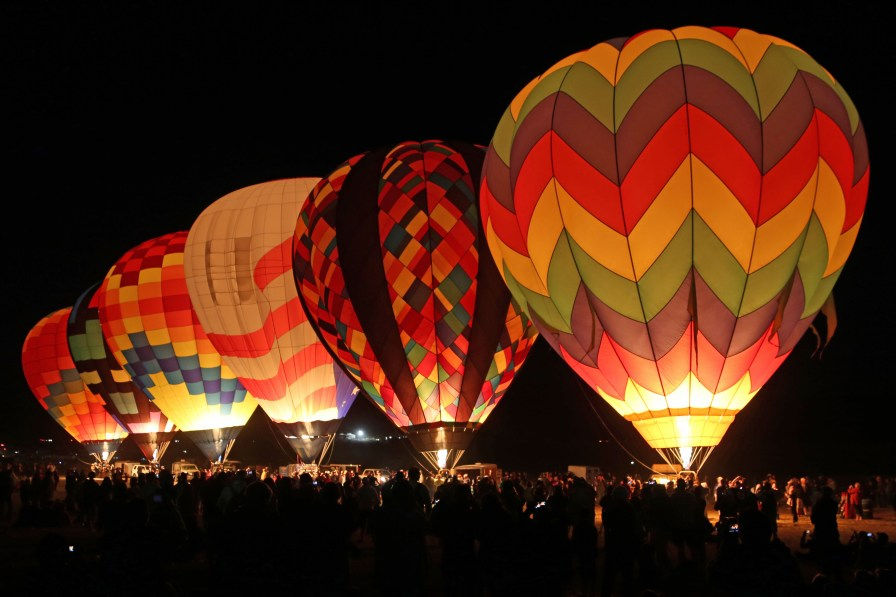 Dawn Patrol 2014 Reno Hot Air Baloon Race
