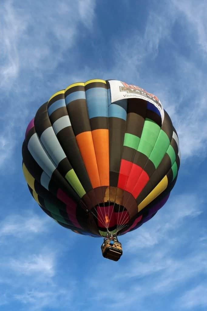 Kiphaven Baloon at Reno Hot Air Baloon Race