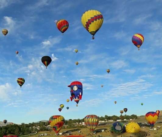 Up Up and Away at the Reno Hot Air Balloon Festival