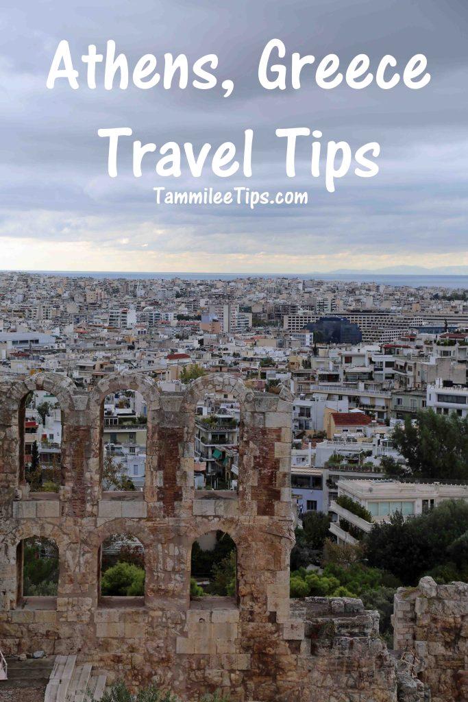 Athens Greece Travel Tips
