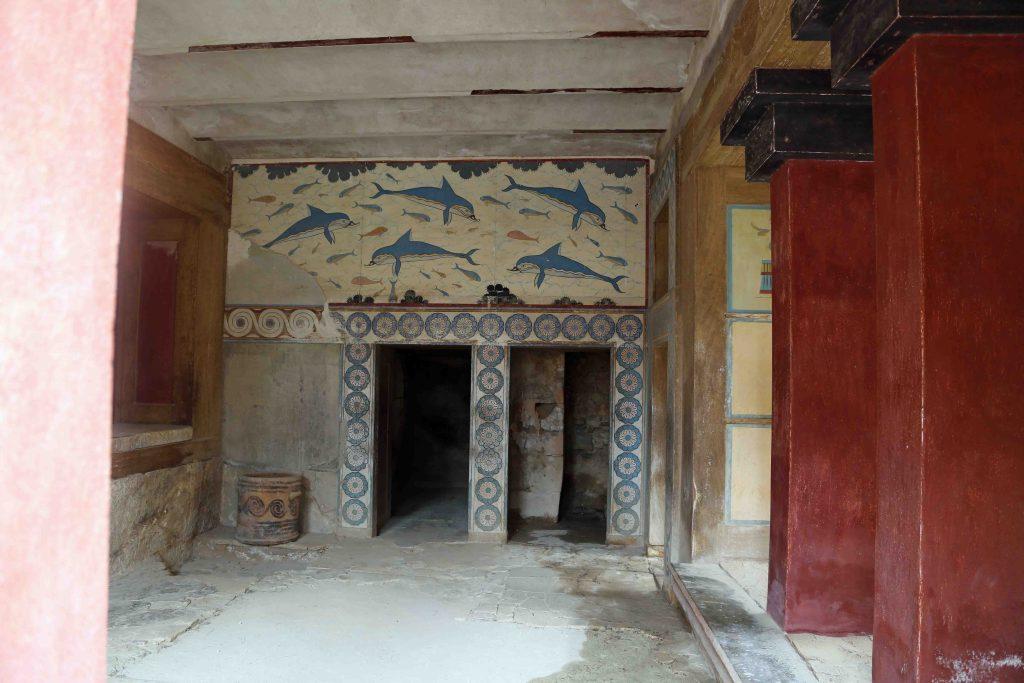 Blog covered Minoan Ruins Crete Greece