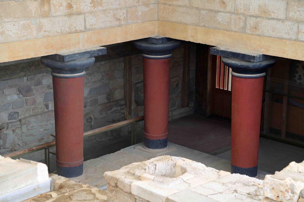 Blog underground Minoan Ruins Crete Greece