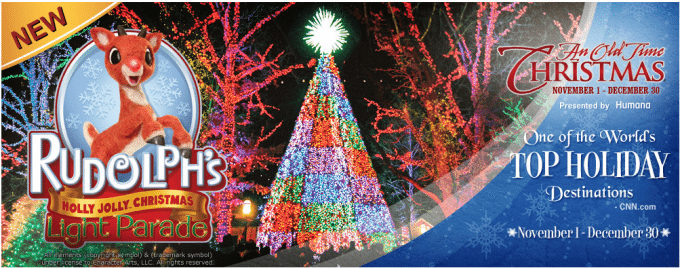 We are headed Branson Missouri to check out the Festival of Lights and so much more