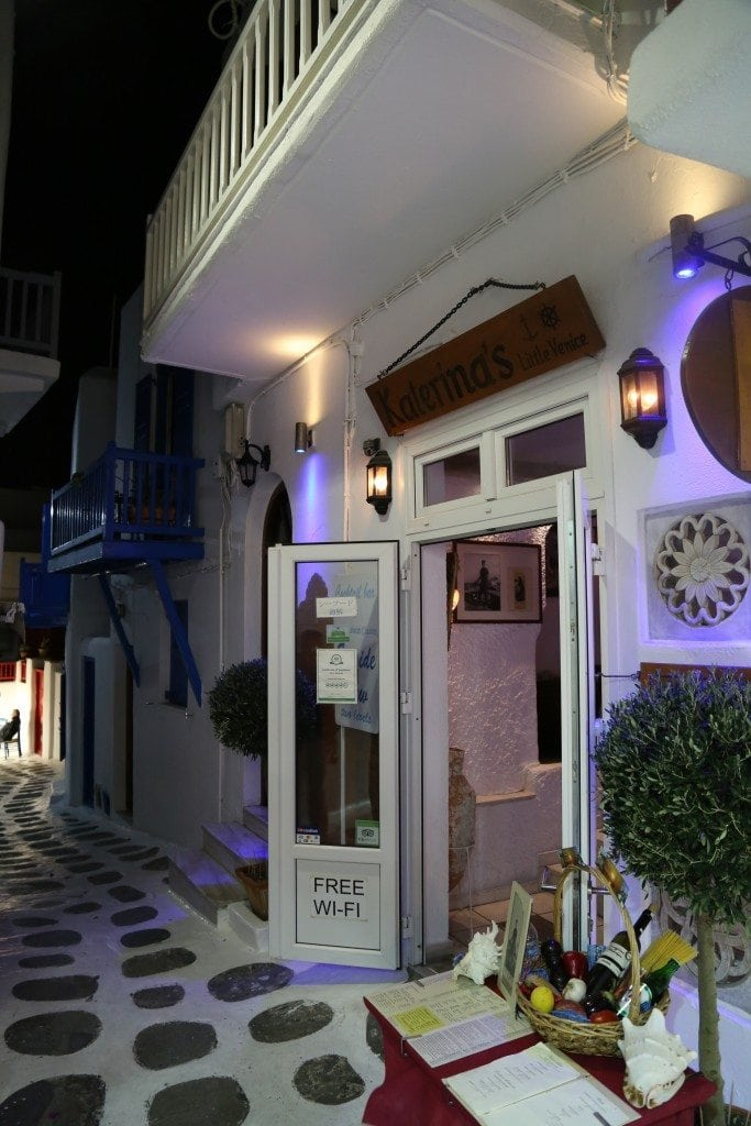 Katerinas Little Venice Mykonos