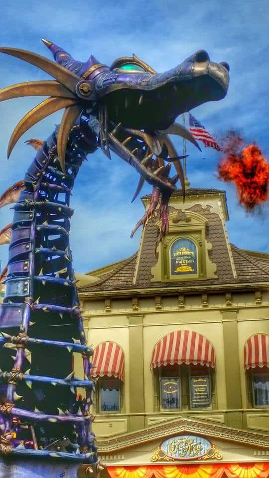 Maleficent Dragon Disney World Parade