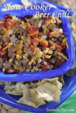 Crock Pot Beer Chili