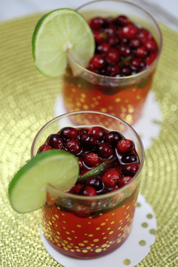 Cranberry Lime Cocktail