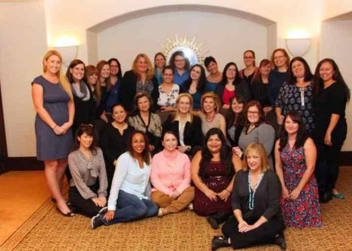 Meryl Streep Group interview shot