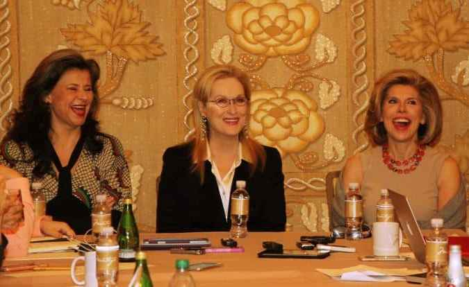 Into the Woods interview with Meryl Streep, Christine Baranski and Tracey Ullman